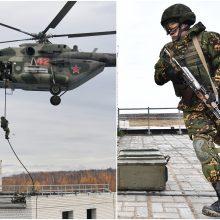 V. Putinas: Rusija naudos šiuolaikinius ginklus, bet liks pasiruošusi nusiginkluoti