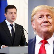Paskelbta pirmojo D. Trumpo ir V. Zelenskio pokalbio stenograma
