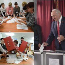 Minskas: išsakyta kritika dėl parlamento rinkimų – nepagrįsta ir politizuota