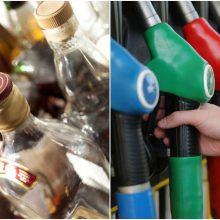 Seimas: didės alkoholio, kuro ir žemdirbių dyzelino akcizai