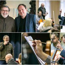 Du maestro scenoje: ką vienas apie kitą mano K. Smoriginas ir V. Lukočius?
