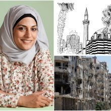 Architektę iš Sirijos kurti įkvėpė sugriautas gimtasis miestas