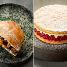 Gardžiam savaitgaliui – sumuštinis su vištiena ir avietinis pistacijų tortas