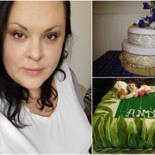 """Lietuvės tortų dizainerės saldžiuose kūriniuose – ir afrikietiški ritmai, ir """"Brexit"""""""