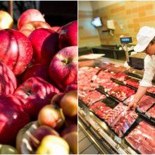 Maisto kainų tyrimas: paaiškėjo, kas parduotuvėse brangsta labiausiai