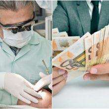 FNTT tikrino odontologus: rasta dešimtys tūkstančių eurų neapskaitytų pajamų