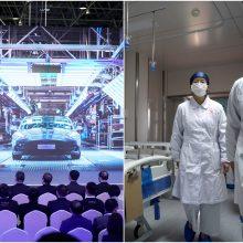 Dėl koronaviruso atidėta Pekino automobilių paroda