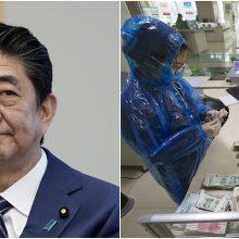 Japonijos premjeras ragina atšaukti didelius renginius: šios savaitės – esminės
