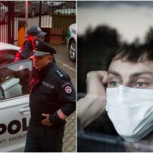 Per parą – virš 200 pranešimų dėl karantino taisyklių pažeidimų, nubausta 80 žmonių