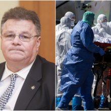 L. Linkevičius su ES ministrais aptars situaciją dėl koronaviruso