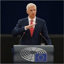 Latvijos premjeras apie elektros pirkimą iš Astravo AE: tokio sprendimo nepriėmėme