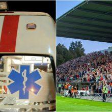 Futbolo rungtynes aptemdė sirgaliaus mirtis: ar medikai tikrai padarė viską?