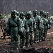 Rusija: šalis neprivalo dalytis duomenimis apie radiacijos lygį