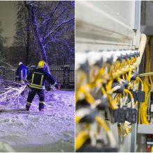 ESO vadovas: be elektros dar yra apie 80 klientų