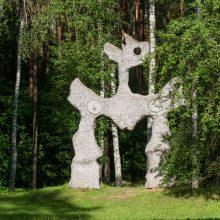 Geografinio Europos centro idėja įprasminta universalia meno kalba