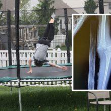 Medikai įspėja: šokinėjimas ant batuto gali būti mirtinai pavojingas