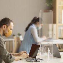 V. Vasiliauskas apie biurų rinką: reikia įvertinti nuotolinio darbo įtaką