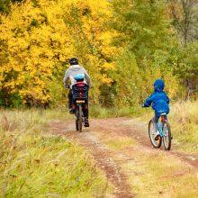 Antram gyvenimui prikels nebenaudojamus dviračius ir dovanos juos vaikams