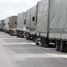 Transporto verslas smarkiai apkarpė investicijas