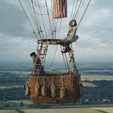 """Įspūdingus vaizdus ir skrydį oro balionu filme """"Aeronautai"""" papildys netikėti garsai"""