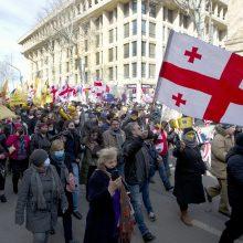Ch. Michelis: ES pasirengusi padėti Sakartvelui spręsti politinę krizę