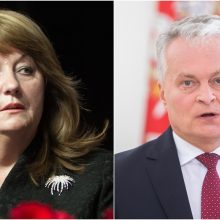 V. Blinkevičiūtė: konservatorių puolimas dėl prezidento atstovavimo EVT atrodo negražiai