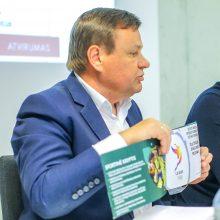 Pirmoji korta atversta: LKF posto sieks buvęs Seimo pirmininkas