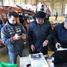 Pietų Prancūzijoje Europos dalyviai atsisveikina su Dakaro technika
