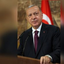 """Turkijos prezidentas: ES dujų ginče su Graikija turėtų elgtis """"nešališkai"""""""