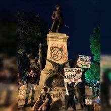 JAV išniekintas T. Kosčiuškos paminklas: ragina reaguoti ir Lietuvos prezidentą