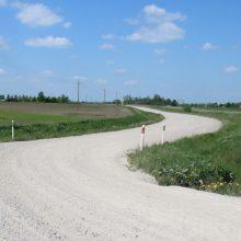 Teisėsaugos prašoma įvertinti žvyrkelio Trakų rajone asfaltavimo aplinkybes