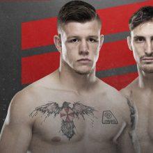 M. Bukauskas antrą kartą žengs į UFC narvą: laukia kova su J. Crute'u
