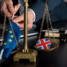 """JK atsakymą dėl """"Brexito"""" teisminių procesų gavusi ES svarsto kitus žingsnius"""