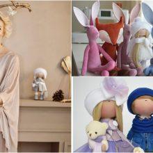 I. Malinauskienė: lėlės padeda man svajoti