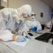 Ligoninėse šiuo metu gydoma beveik 1,2 tūkst. COVID-19 pacientų, iš jų 126 – reanimacijoje