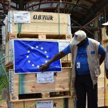 Koronavirusas kuria sienas, o ES tiesia pagalbos tiltus