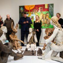 Vilniuje pristatyta Europos galerijose laukiamos skulptorės R. Jusionytės kūryba