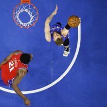 D. Sirvydis ir I. Brazdeikis pasiekė rezultatyvumo rekordus NBA