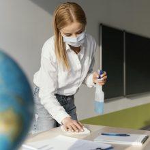 Meras: Šiauliuose mokyklose kol kas lieka visi pradinukai, net ir be COVID-19 testų