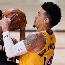 """""""Lakers"""" gynėjo žmonai – rimti grasinimai"""