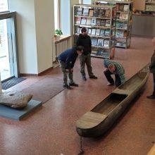 Nacionalinis muziejus archeologijos ekspoziciją papildė keturiais luotais