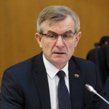 V. Pranckietis su frakcijų seniūnais ketina aptarti kandidatus į KT teisėjus