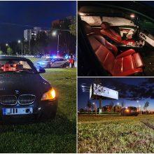 Eismo nelaimė Šiaurės prospekte: girtas BMW vairuotojas užsidirbo baudžiamąją bylą