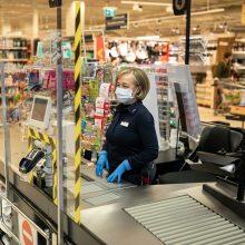 """""""Maxima"""" į darbuotojų ir klientų saugumą investavo per 4 mln. eurų"""
