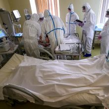 Beveik 6 milijonai pasaulio gyventojų užsikrėtė koronavirusu