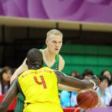 FIBA geriausiu trijulių krepšininku išrinktas latvis, lietuvis – penktas