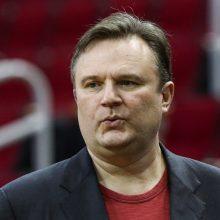 """Iš """"Rockets"""" pasitraukęs D. Morey keliasi į """"76ers"""""""