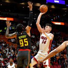 """Įspūdingą seriją surengęs """"Heat"""" naujokas atvedė savo ekipą į dar vieną pergalę"""