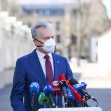 G. Nausėda siūlymus ekonomikai skatinti Seime siūlo nagrinėti ypatingos skubos tvarka
