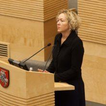 Konstitucinis Teismas: S. Rudėnaitė negali laikinai vadovauti Aukščiausiajam Teismui